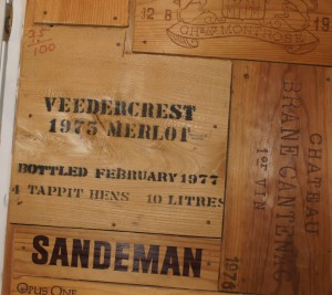 1975 Veedercrest Wine Crate