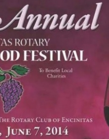 Encinitas Rotary Food & Wine Festival – June 7th, 2014